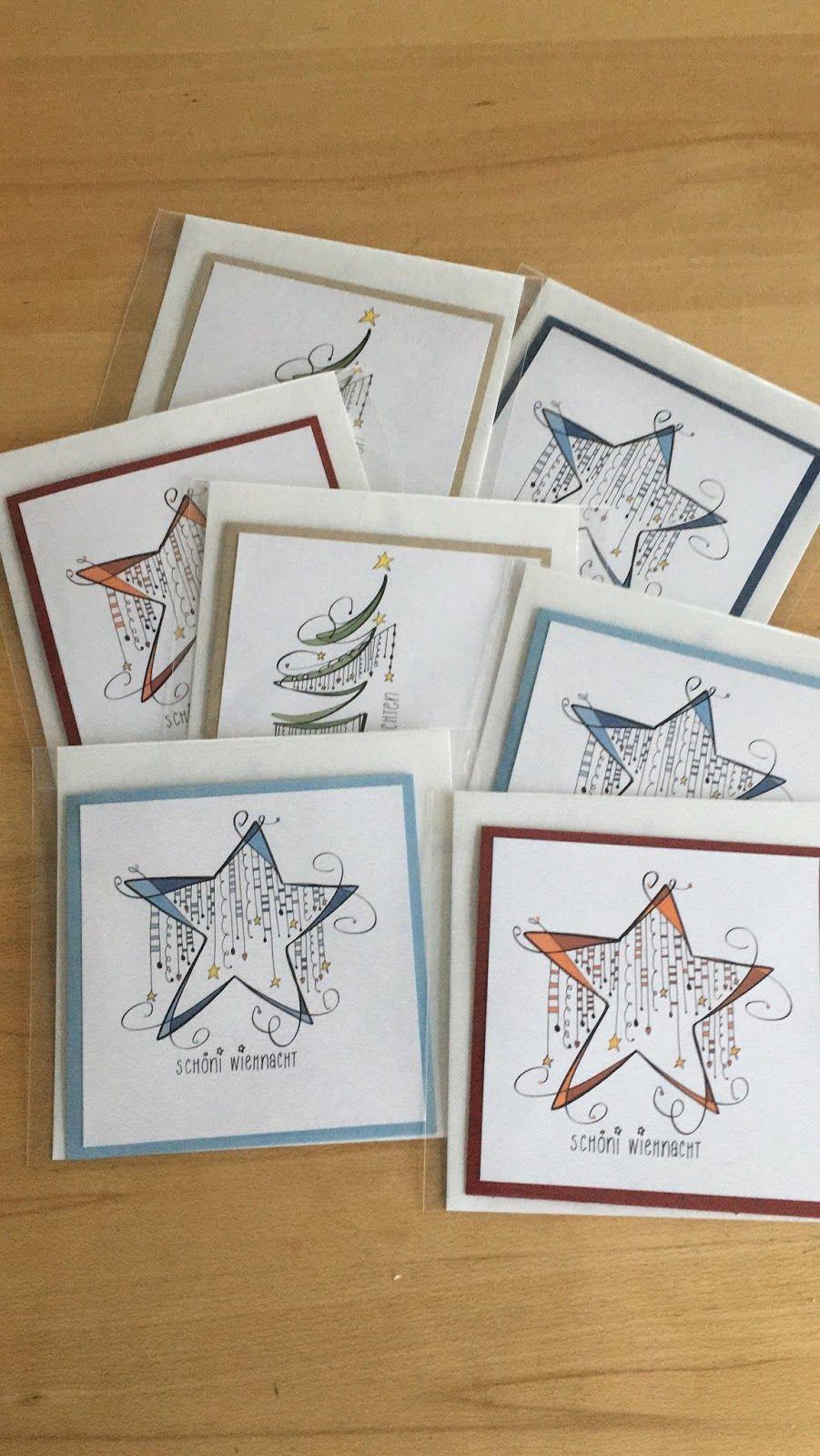 Liebe Besucher in den vergangenen Tagen sind diese Weihnachtskarten entstanden. Ich wünsche euch allen einen schönen 1. Advent. ...