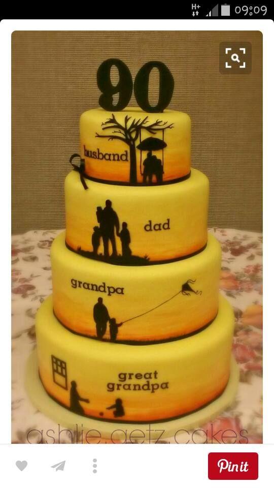 90 geburtstag cakes pinterest geburtstag torte geburtstagskuchen und geburtstag - Ideen 90 geburtstag ...