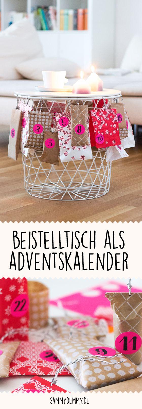 Adventskalender, Idee Adentskalender, Deko Weihnachten, Geschenke ...