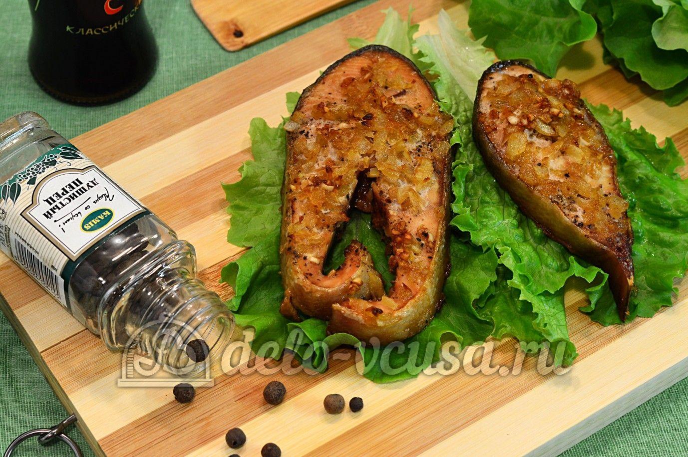 Кета с соевым соусом в духовке | Рецепт | Идеи для блюд ...