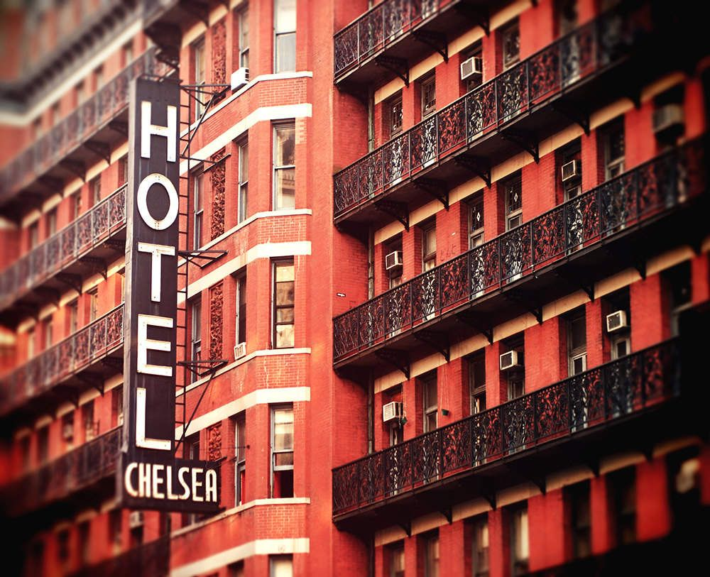 Wild Tigers Ghost Nurses And Other Crazy Tales From 13 Spooky Hotels Chelsea Hotel New York Photos Chelsea