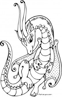 Pin By Melissa Cole On Dragons Pinterest Coloring Pages Dragon