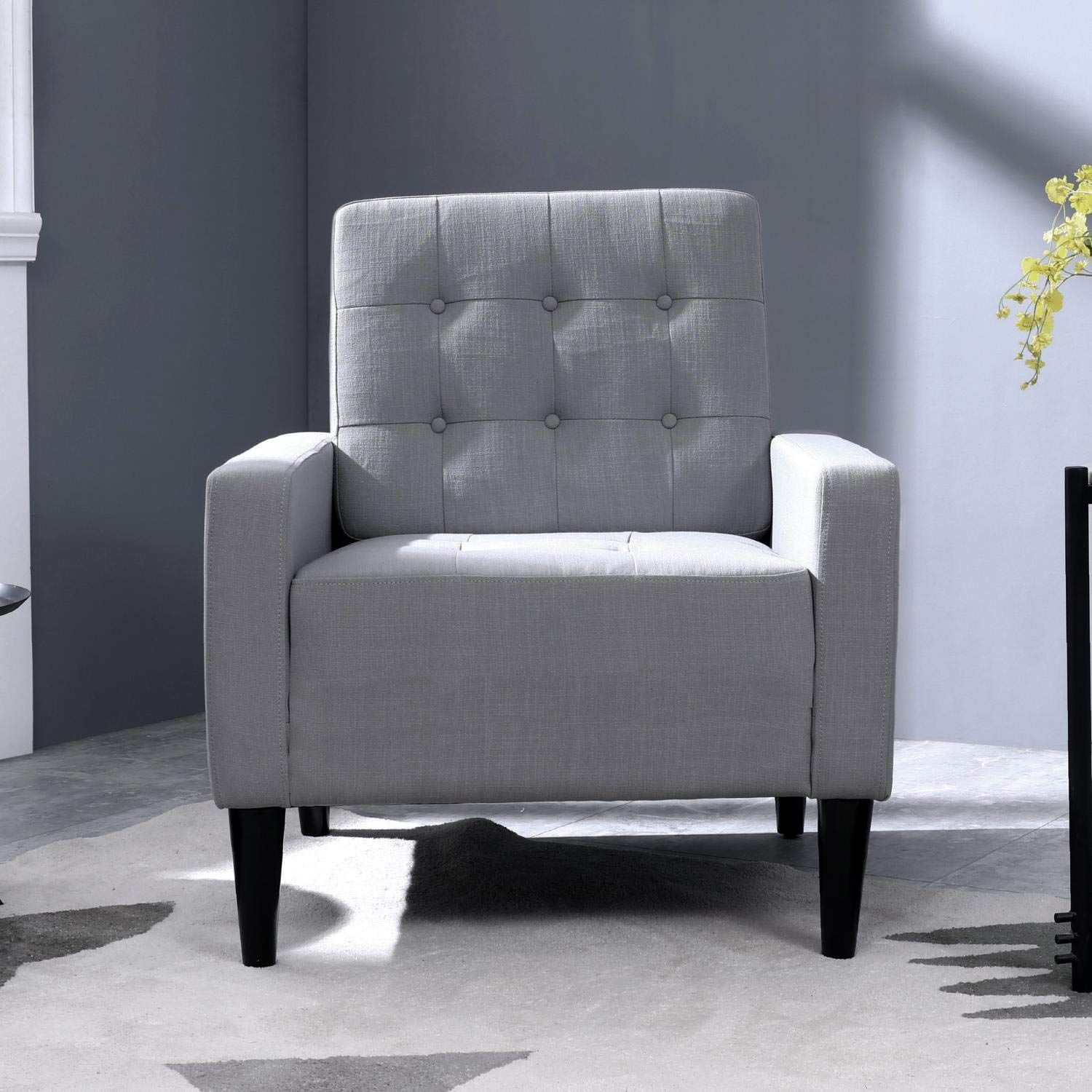 Top Space Accent Chair Living Room Chair Arm Chairs Single