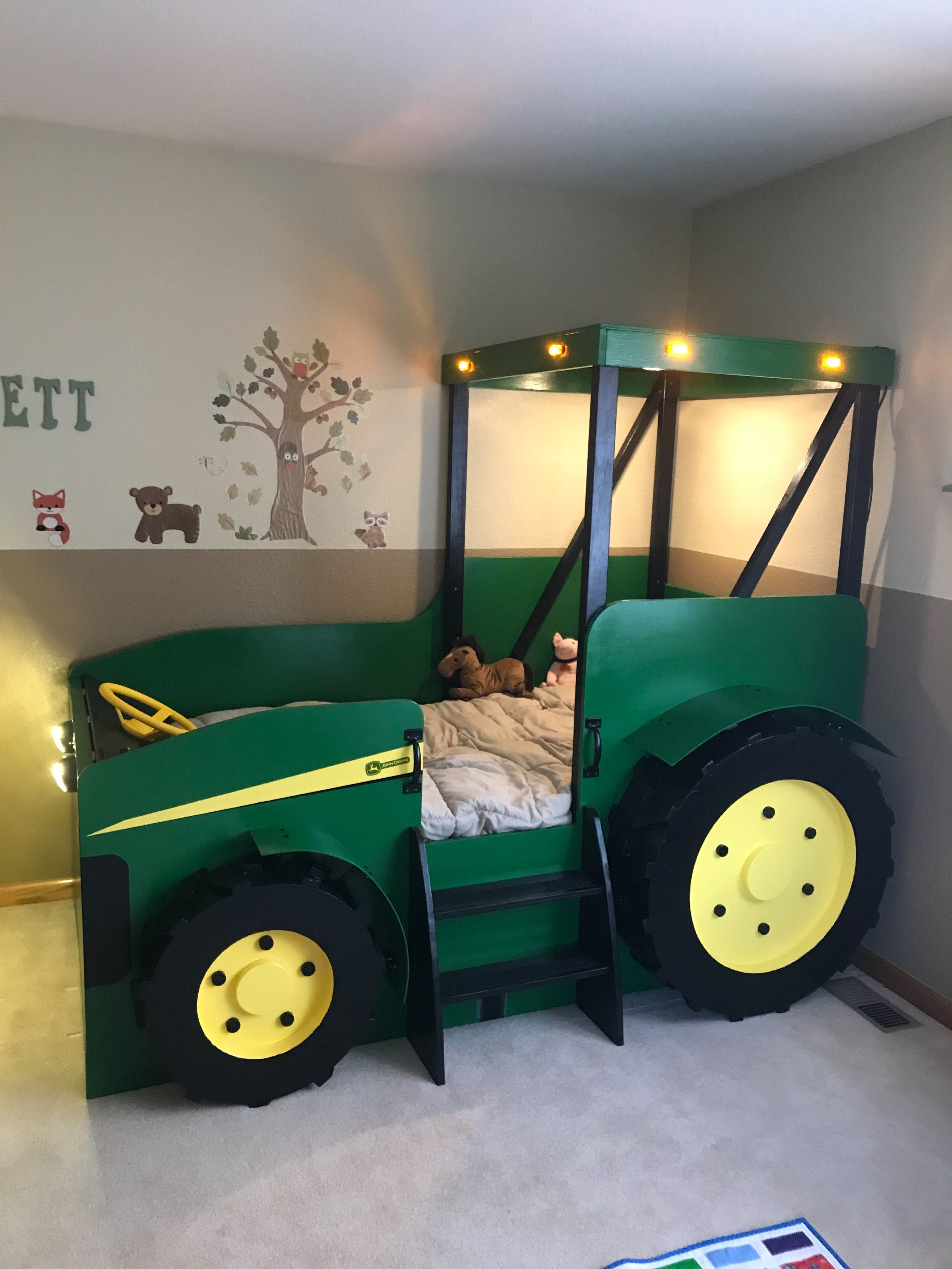 Tractor Bed PLANS (pdf format), Create a Farm Themed
