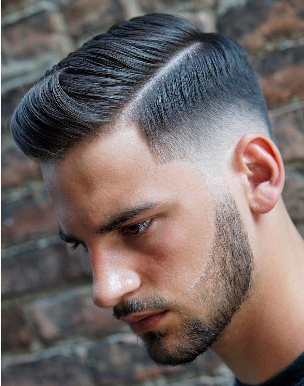 21 Side Part Haircuts Cool Modern Stylistki Włosów