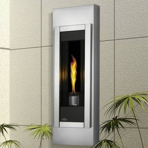 Napoleon Wall Mounted Gas Torch Fireplace Natural