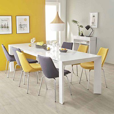 Noémie Table de repas extensible L180cm  270cm 12 convives