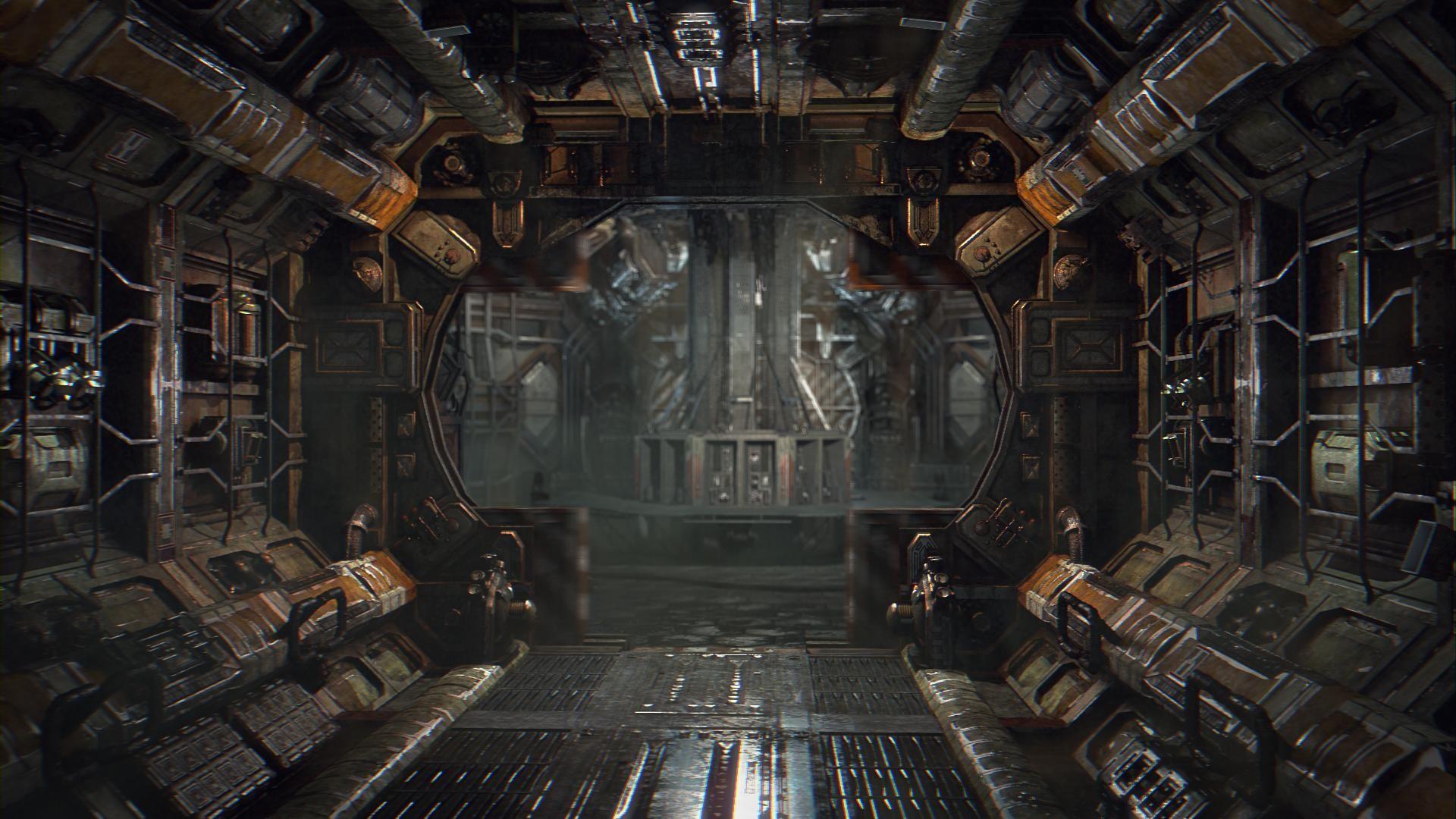alien inside ship - HD1920×1080