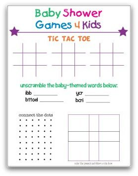 Baby Shower Games Ideas With Images Baby Shower Gifts Baby