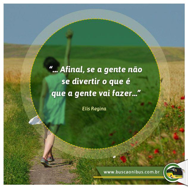 Viaje, e antes disso consulte no www.buscaonibus.com.br
