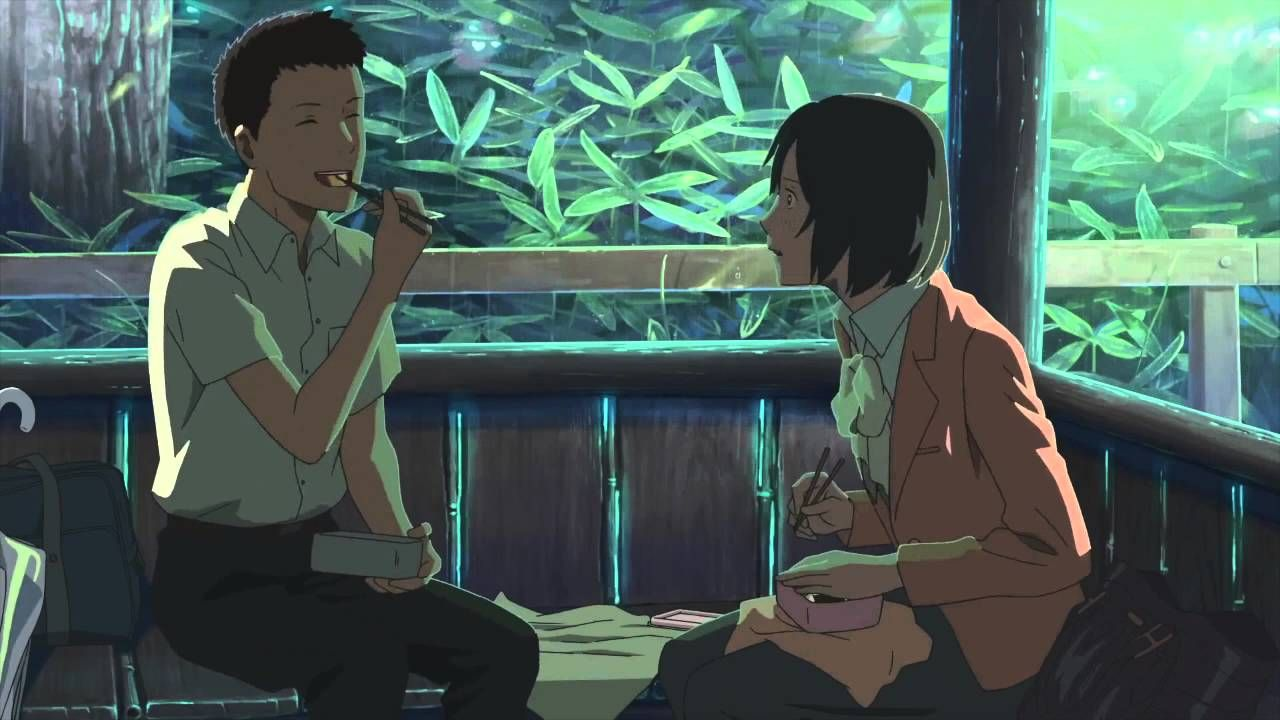 Got 2 Million Views But I Think It Deserves More This Is Not My Amv Garden Of Words Anime Films Anime Romance