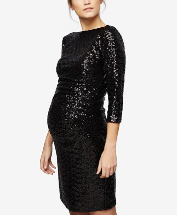8e724ace9 A Pea In The Pod Maternity Sequin Sheath Dress