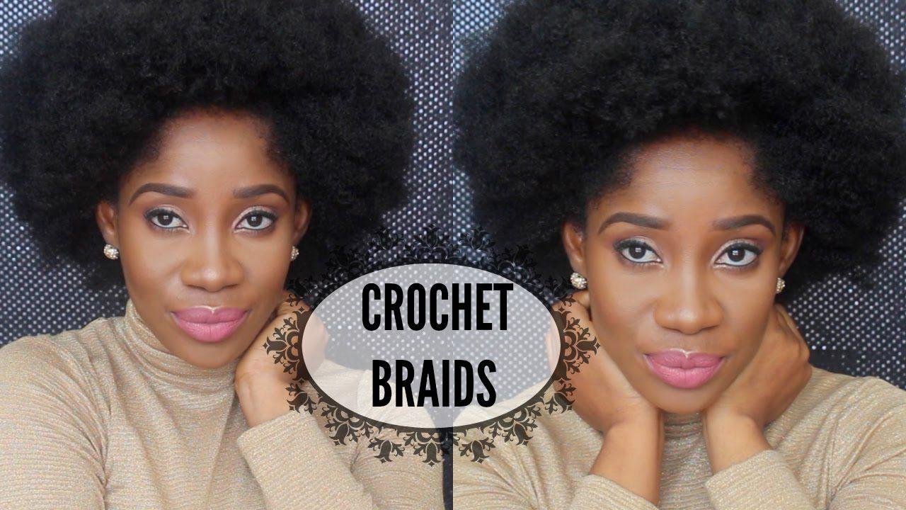 Short Afro Kinky Crochet Braids
