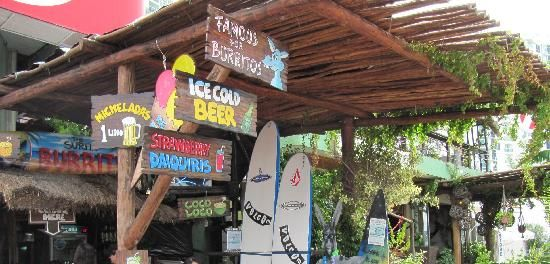 The Surfin Burrito Cancun Restaurant Highly Rated On Trip Advisor Mexico Vacation Cozumel