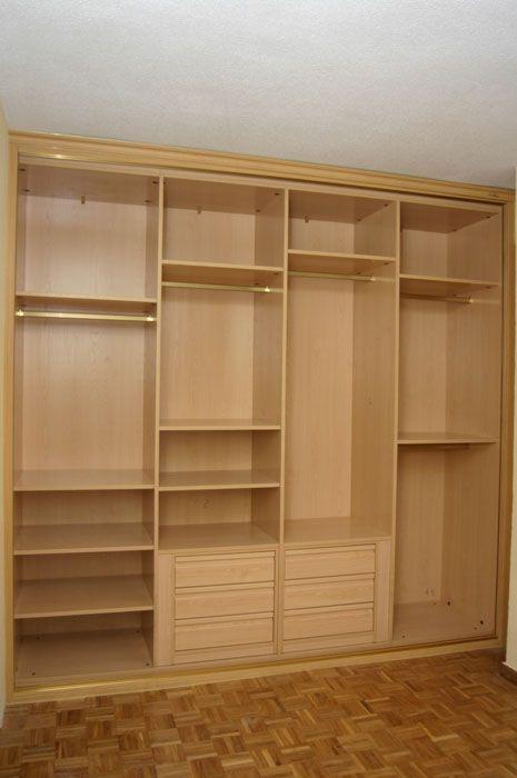 Interiores armarios empotrados a medida lolamados storage pinterest interior armario - Disenos armarios empotrados ...