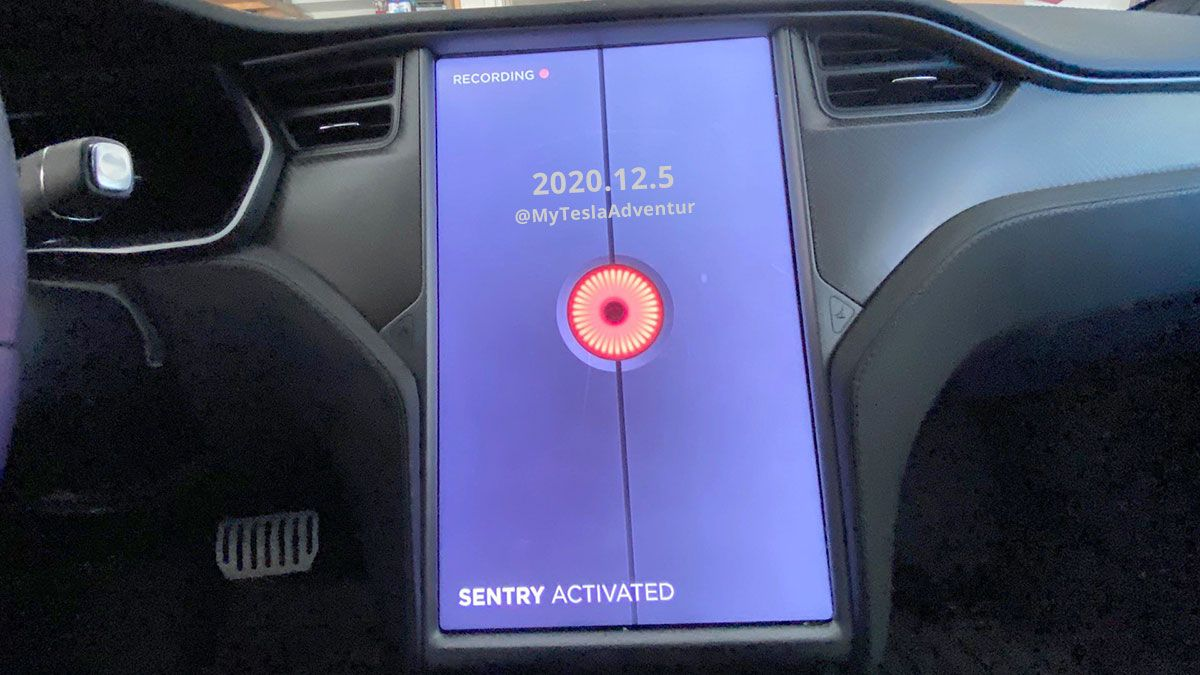 New Tesla Sentry Mode Symbol Dashcam Viewer And More In 2020 12 5 Update New Tesla Tesla Dashcam