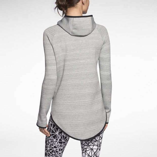 nike tech fleece cape women 39 s hoodie simply styling. Black Bedroom Furniture Sets. Home Design Ideas