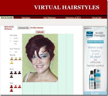 Virtualhairstyles Virtual Hairstyles Virtual Hairstyles Free Hair Styles