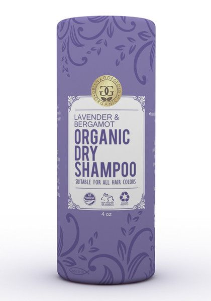 Organic Natural Dry Shampoo Powder For All And Oily Hair Types Lavender And Bergamot Dry Shampoo Powder Organic Dry Shampoo Shampoo Powder