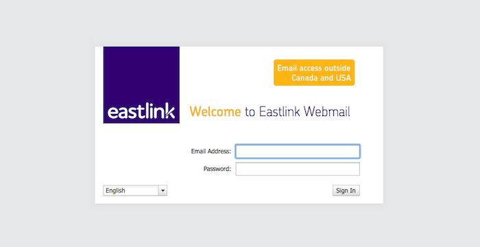 Eastlink Email Login Page URL Online email, Webmail, Email