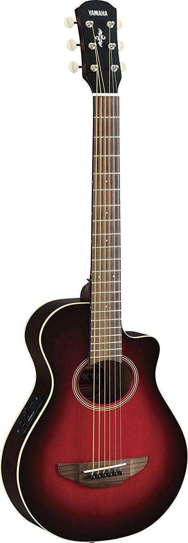 245 53 Yamaha Apxt2 3 4 Acoustic Electric Guitar W Bag Dark Red Burst Amazon Co Uk Musical Electro Acoustic Guitar Acoustic Electric Guitar Acoustic Guitar