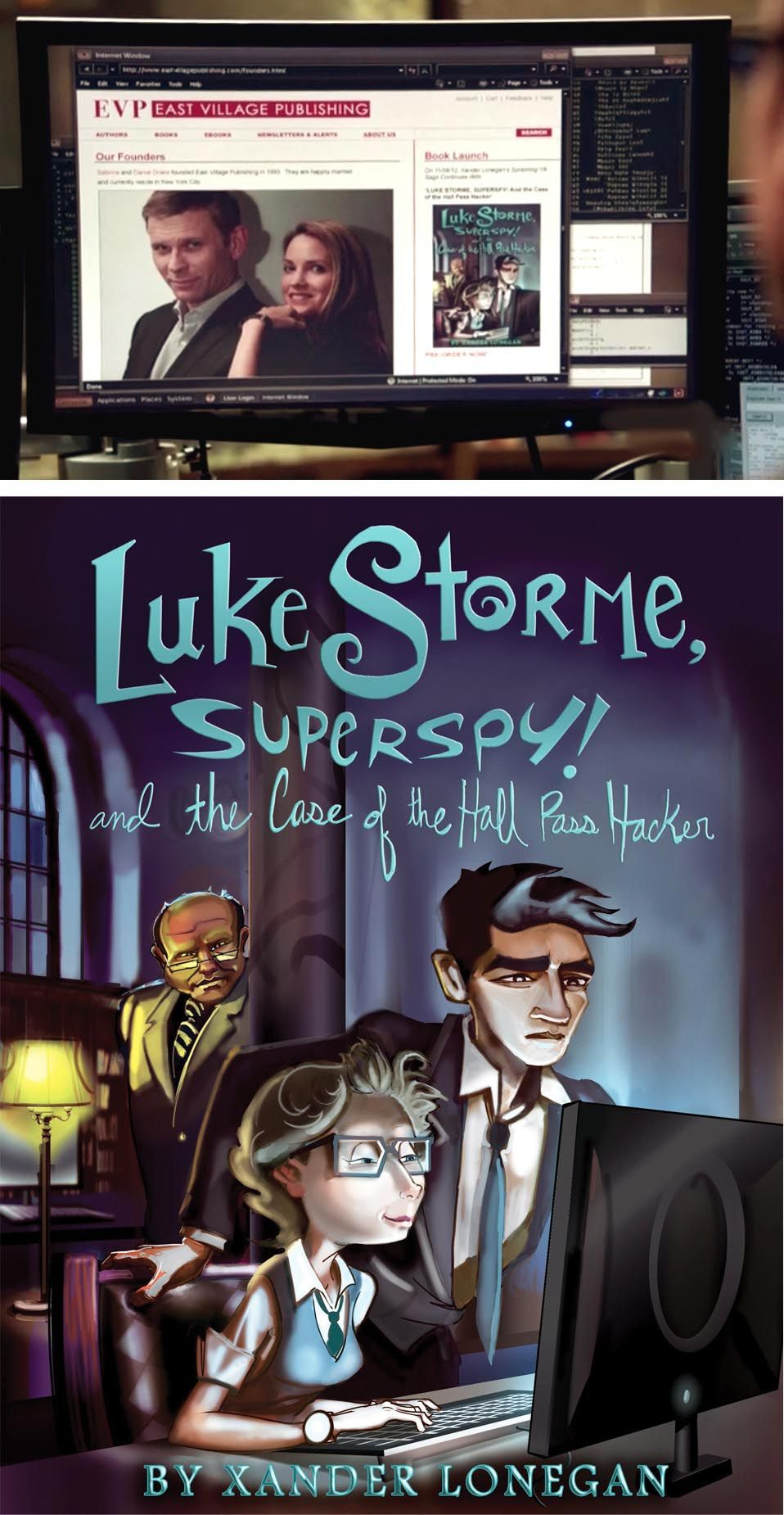 """""""Luke Storme, Superspy!"""" by Mike from The STUDIO for CBS's hit show - #PersonofInterest (Episode 208 """"Til Death"""")"""