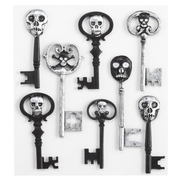 Skeleton Keys Stickers