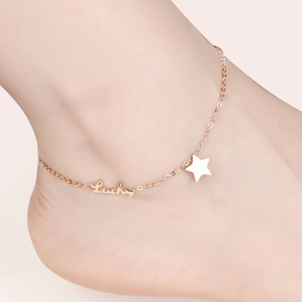 FATE LOVE brand Girls Ladies Anklets for Women Ankle Bracelet Chain