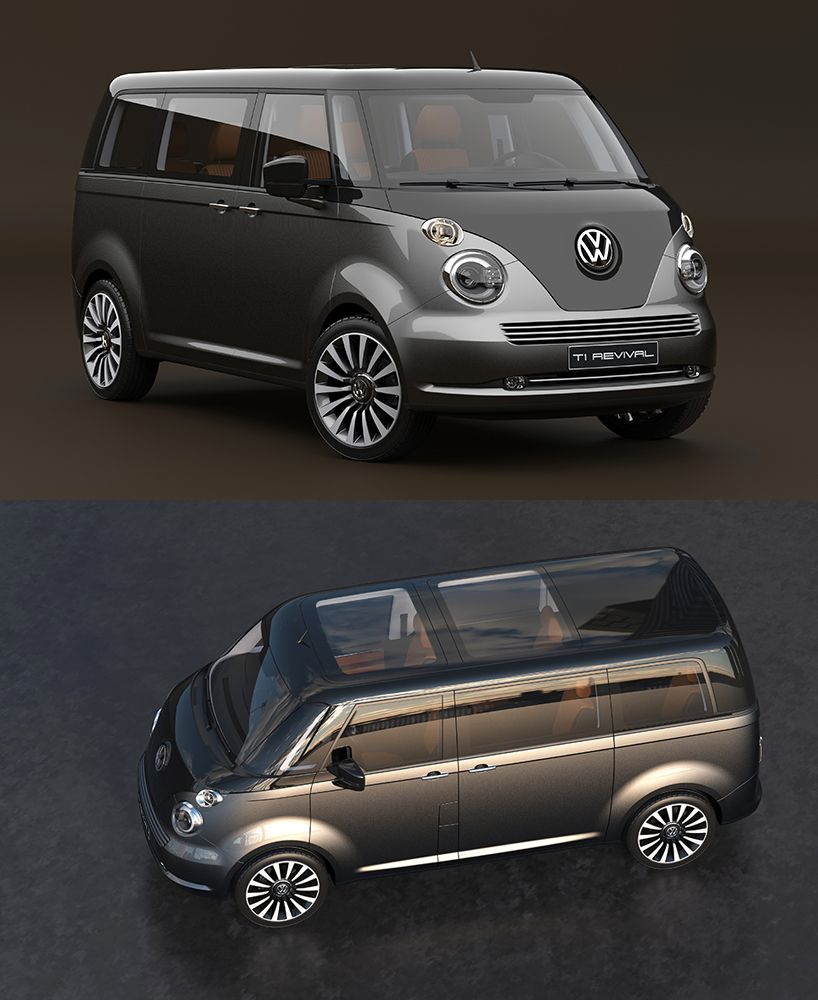 2016 Volkswagen T6 Vintage Concept > Inspired By The 1950