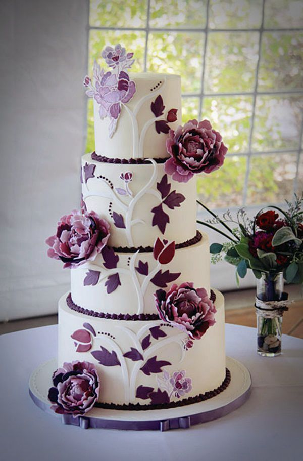 2014 Special Wedding Cake Ideas Pictures Cakes Inspiration Cute