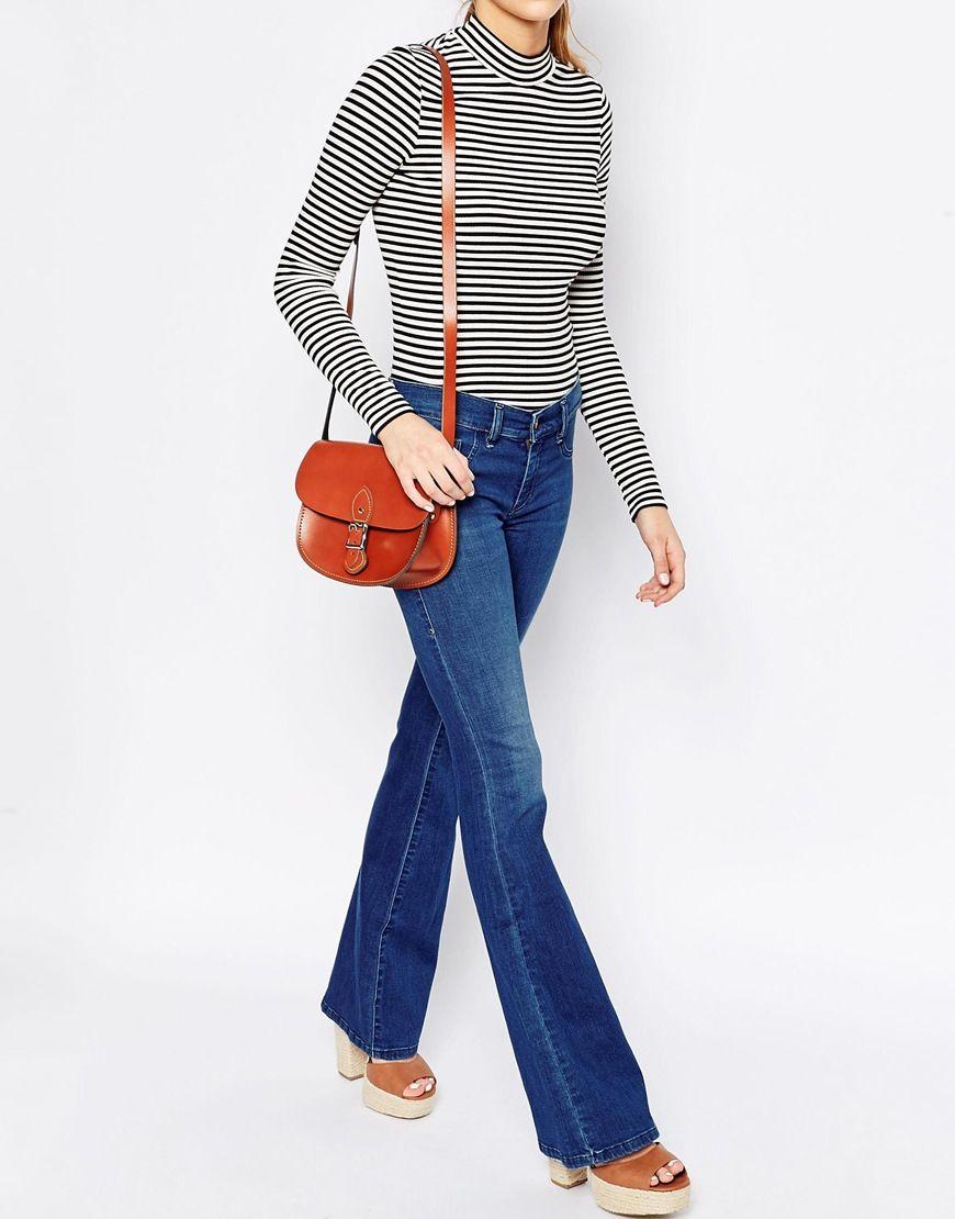 Image 3 of The Leather Satchel Company Saddle Bag | Sac à main ...