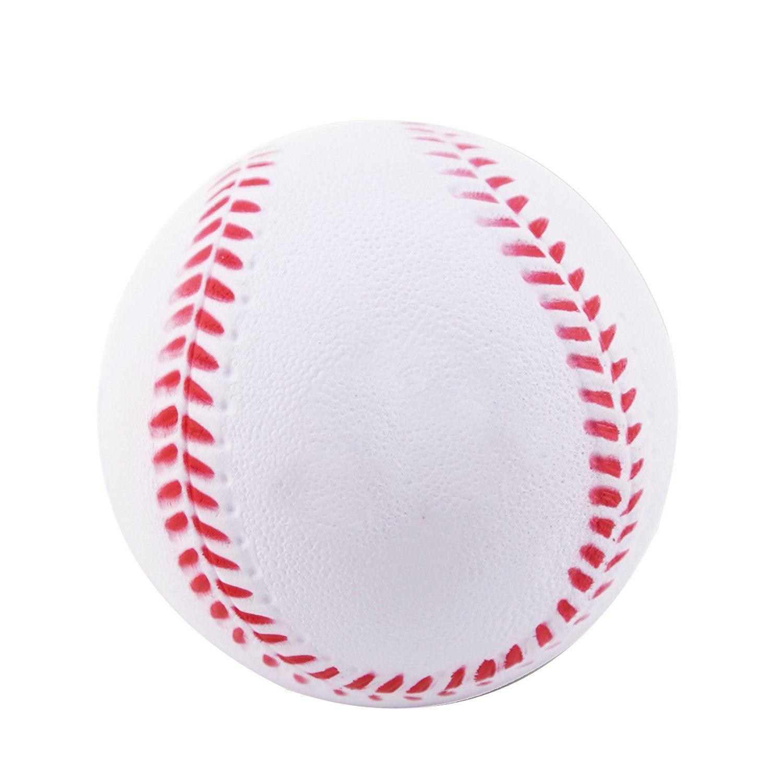 B1st Practice Baseballs Foam Softballs Training Sporting Batting Soft Ball White 9 Inch Pack Of 12 Soft Pu Foam Baseball Softball Training Softballs Baseballs