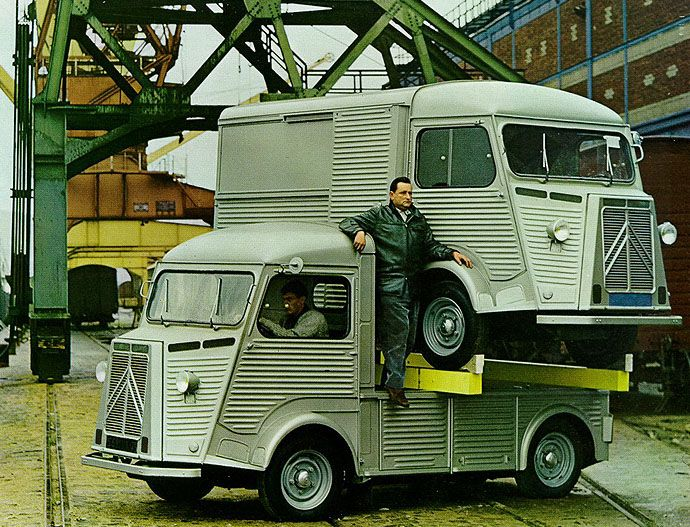 citro n type hy 1964 citroen van cars trucks et. Black Bedroom Furniture Sets. Home Design Ideas