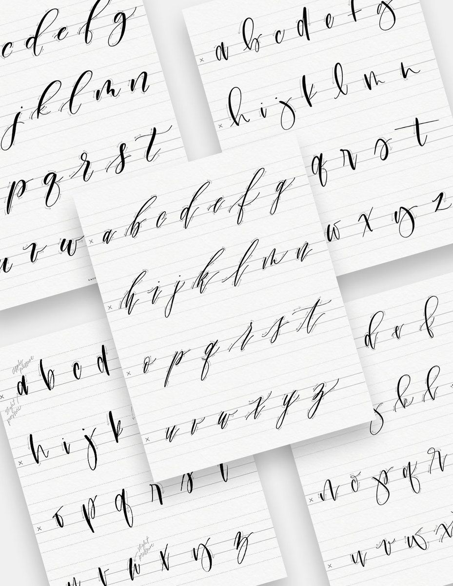 Learn modern calligraphy with my new LOWERCASE calligraphy