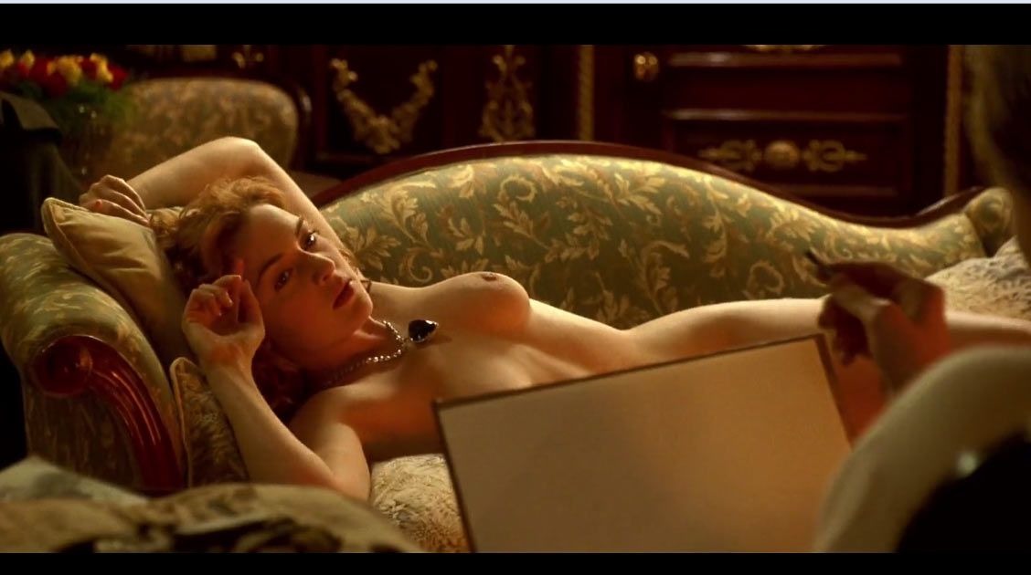 Naked girl from titanic