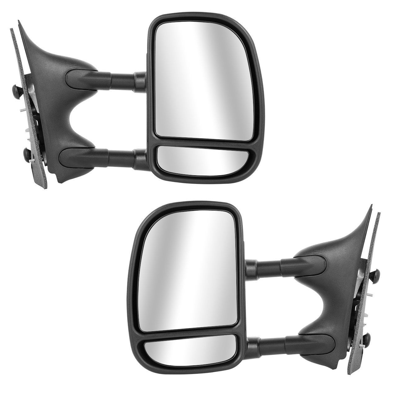 Scitoo 1999 2007 Ford F250 F350 F450 Pair Power Towing Mirrors Side View Mirrors Fit 1999 2000 2001 2002 2003 2004 2 Towing Mirrors Super Duty Trucks Ford F250