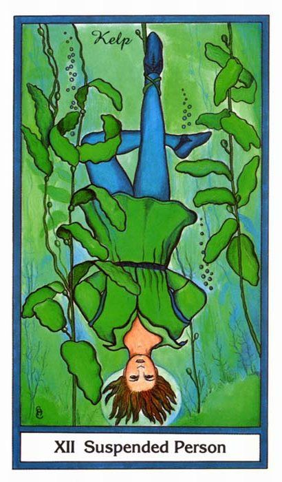 Herbal Tarot ► Suspended Person