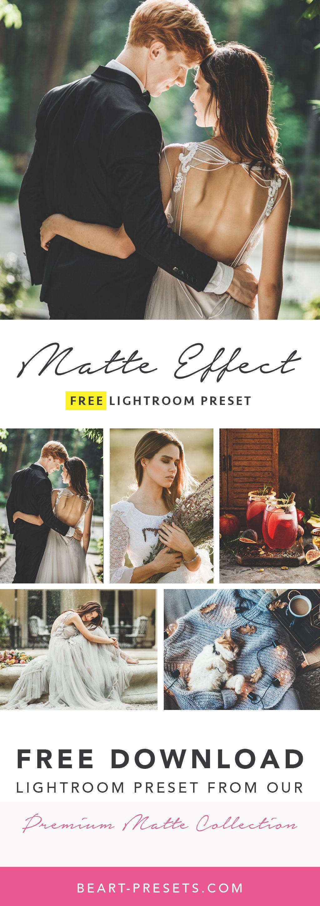 Matte lightroom presets free