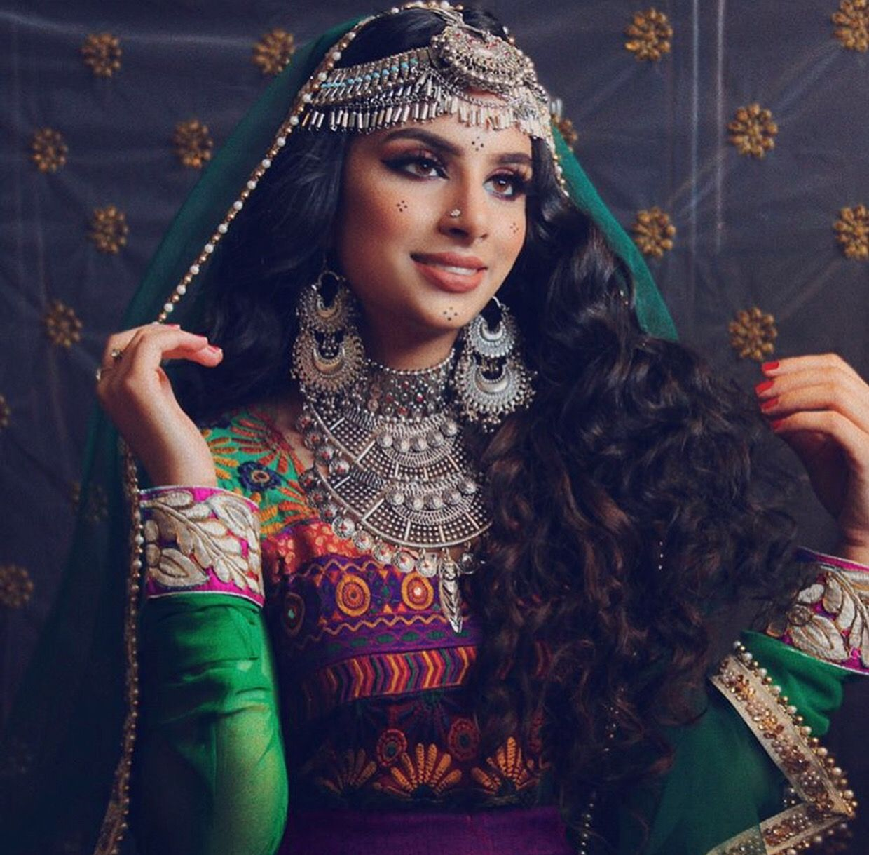Afghan women are thee most beautiful! #afghan #tribaljewelry