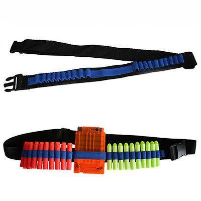 Bullets Darts Ammo Storage Shoulder Strap Belt For Blaster Toy Gun