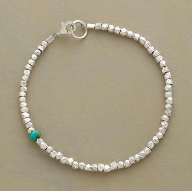 singular moment. sundance catalog bracelet {brass + Czech glass in the version i'm about to make!}