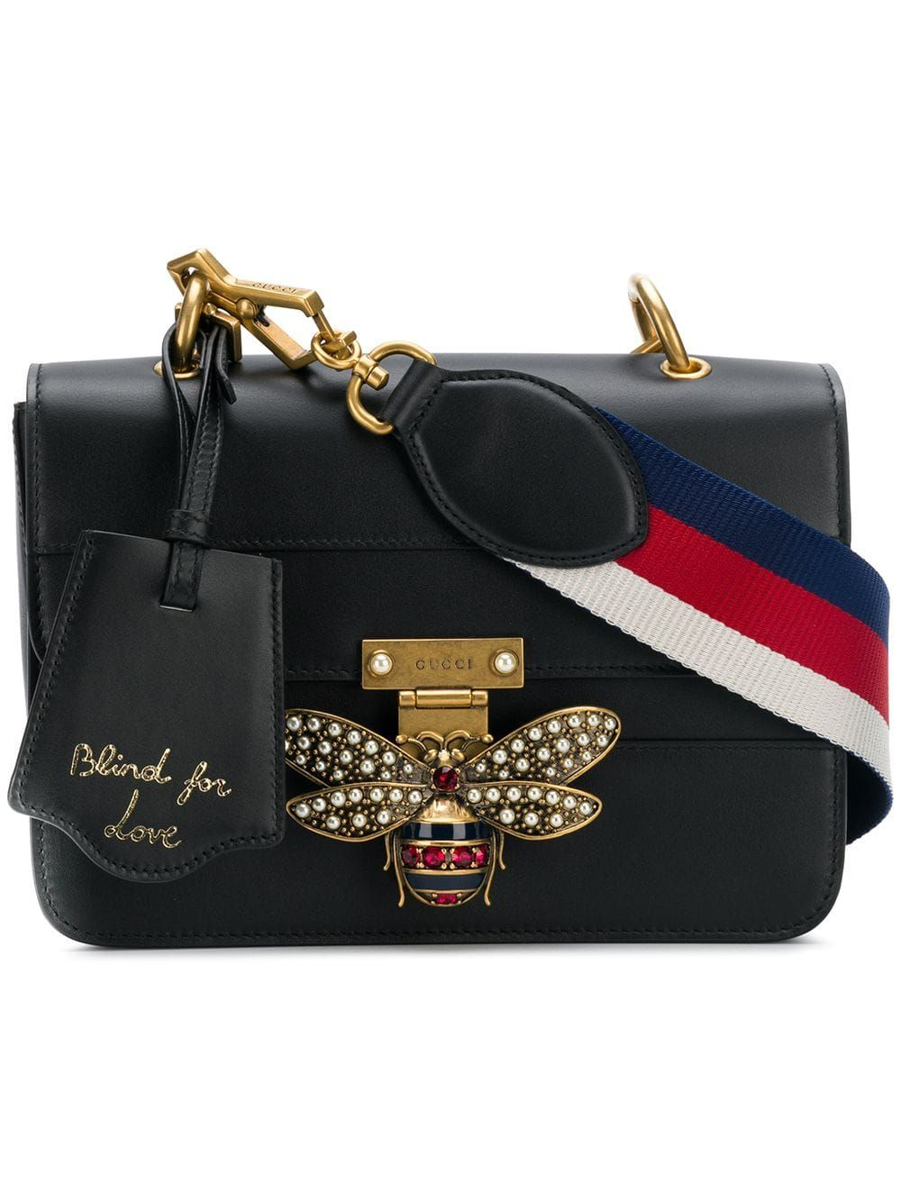 a305859d0 Gucci Bee Logo Embellished Bag in 2019 | Products | Gucci bee bag ...