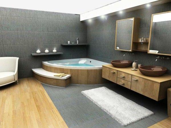 25 Fantastic Indoor Hot Tubs 1 Decor Indoor Hot Tub Bathroom Design Luxury Bathroom Design