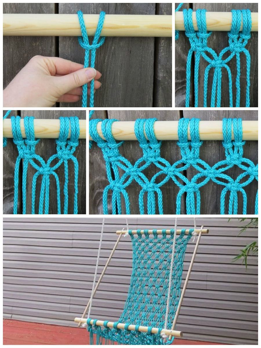 How to diy macrame hammock chair sewing projects u ideas