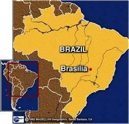 General map of Brasilia Brasilia Pinterest