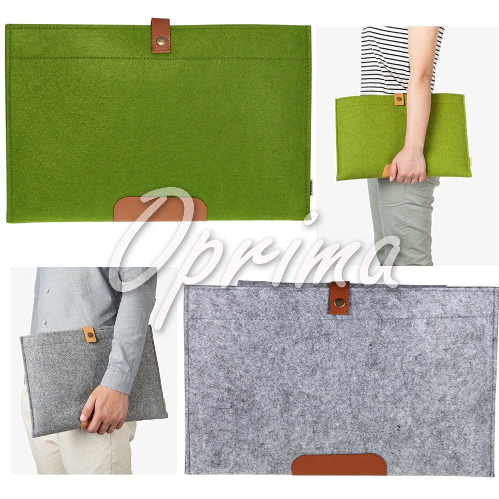 Felt Laptop Sleeve Case Cover Bag for Apple MacBook Air Pro Retina 11  13  15