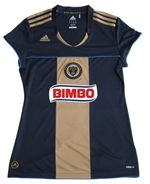 Yes, the Philadelphia Union sells women's jerseys with the sponsor logo on it.  That's... unfortunate.