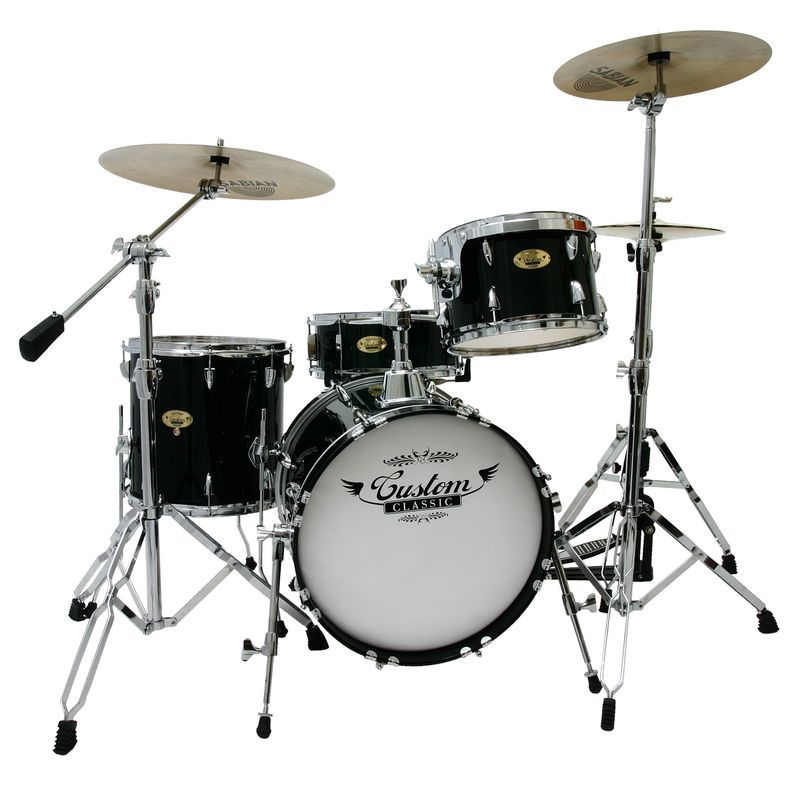 snazzy piano black custom classic pro birch jazz drum set only shop siglermusic drums. Black Bedroom Furniture Sets. Home Design Ideas