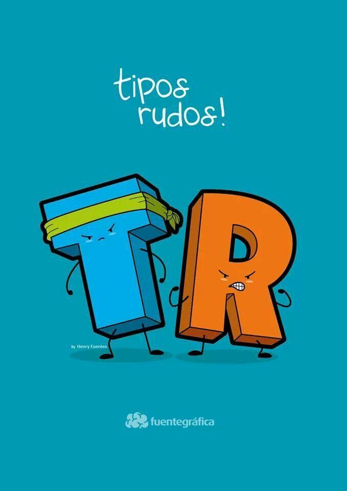 Unos tipos rudos! Cartel by: Henry Fuentes
