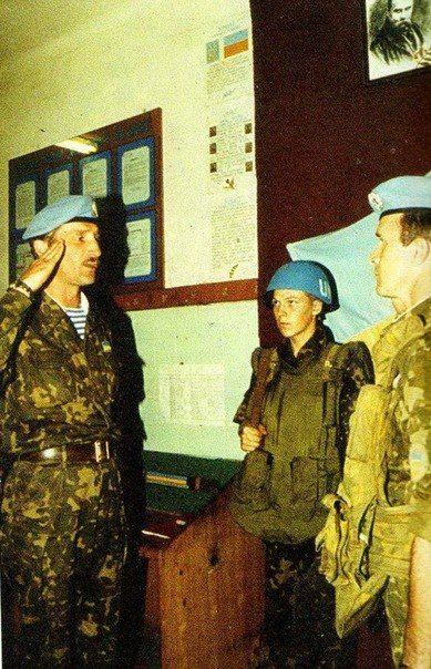УКРБАТ-1 UNPROFOR Сараєво (Sarajevo) 1992